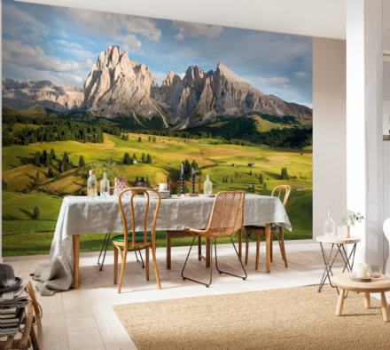 Alps Mountains wall mural wallpaper